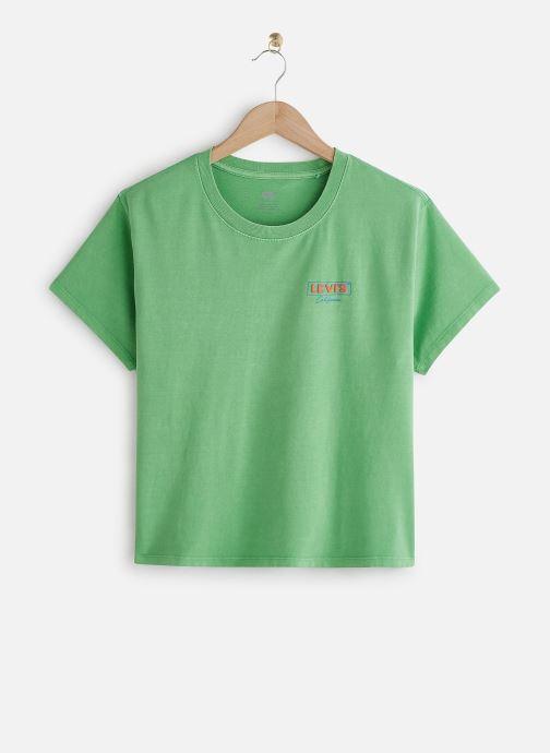 Vêtements Levi's Graphic Varsity Tee Vert vue détail/paire