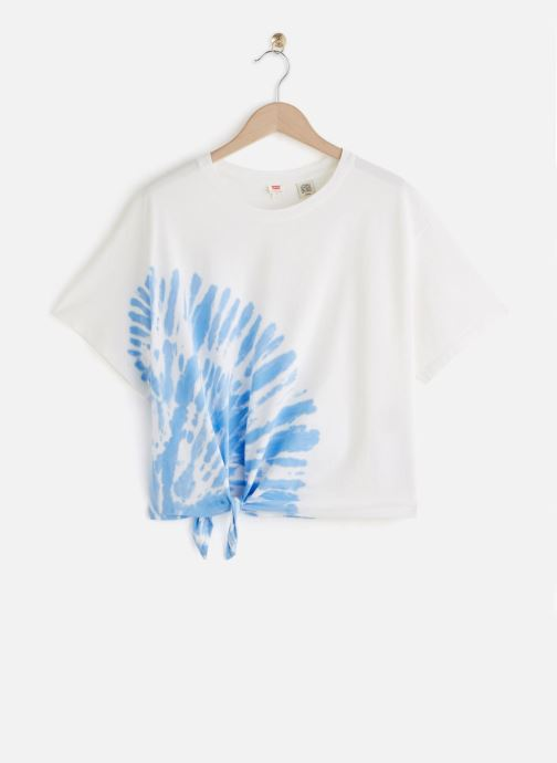 Vêtements Levi's Luna Knot Tee Blanc vue détail/paire