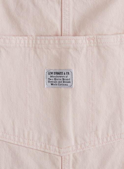 Vêtements Levi's Norah Skirtall Rose vue portées chaussures
