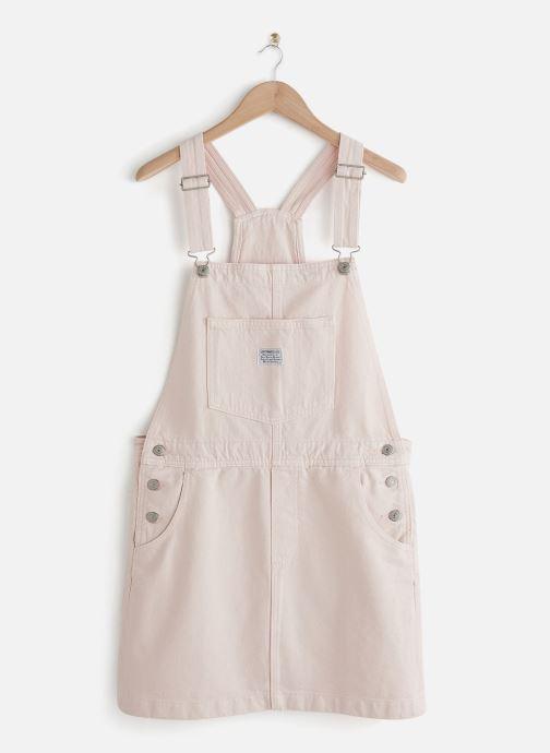Vêtements Levi's Norah Skirtall Rose vue détail/paire