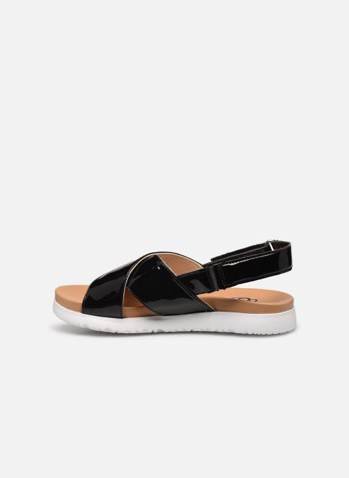Sandalen UGG K KLARA schwarz ansicht von vorne