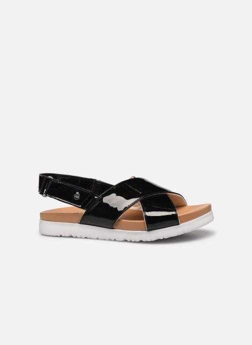 Sandalen UGG K KLARA schwarz ansicht von hinten