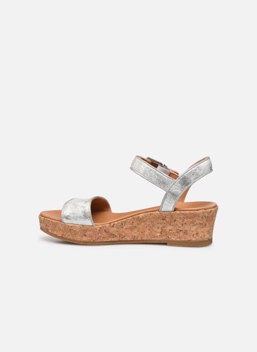 Sandalen UGG K-MILLEY Zilver voorkant
