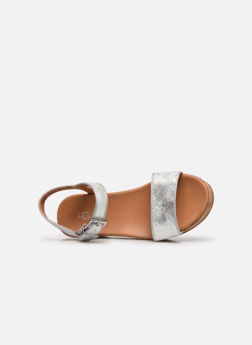 Sandalen UGG K-MILLEY Zilver links