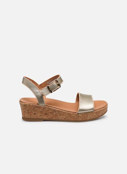 Sandalen UGG K-MILLEY gold/bronze ansicht von hinten
