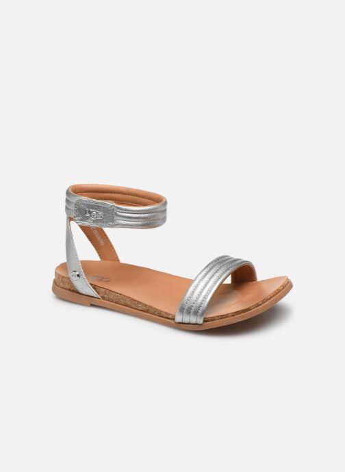 Sandales et nu-pieds UGG K ETHENA Argent vue détail/paire
