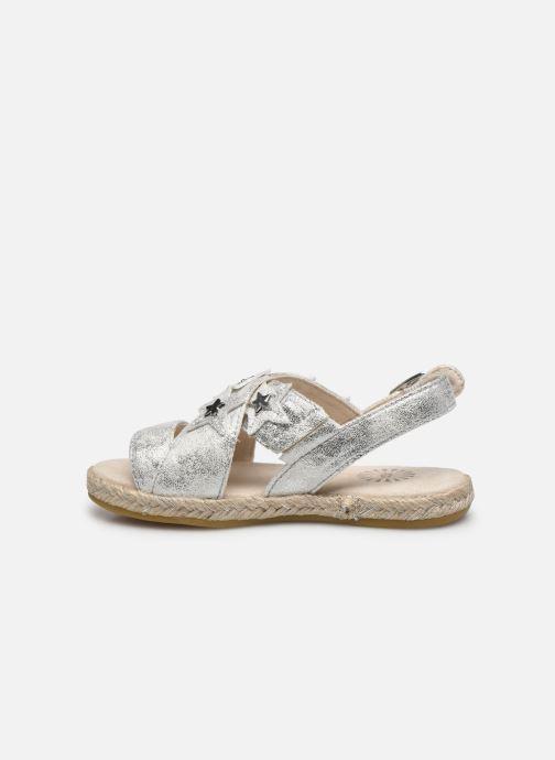 Sandali e scarpe aperte UGG T ALLAIREY STARS Argento immagine frontale