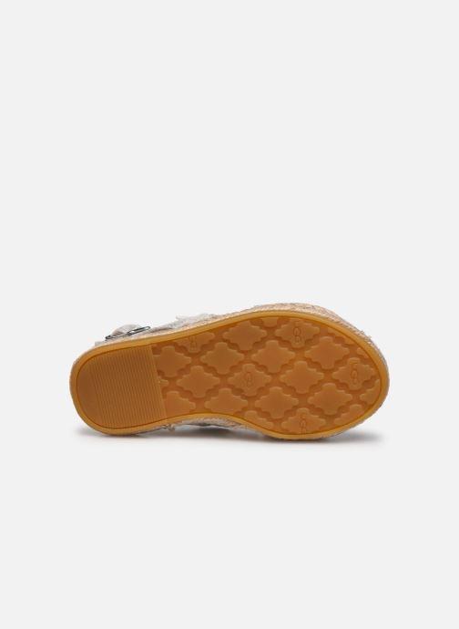 Sandali e scarpe aperte UGG T ALLAIREY STARS Argento immagine dall'alto