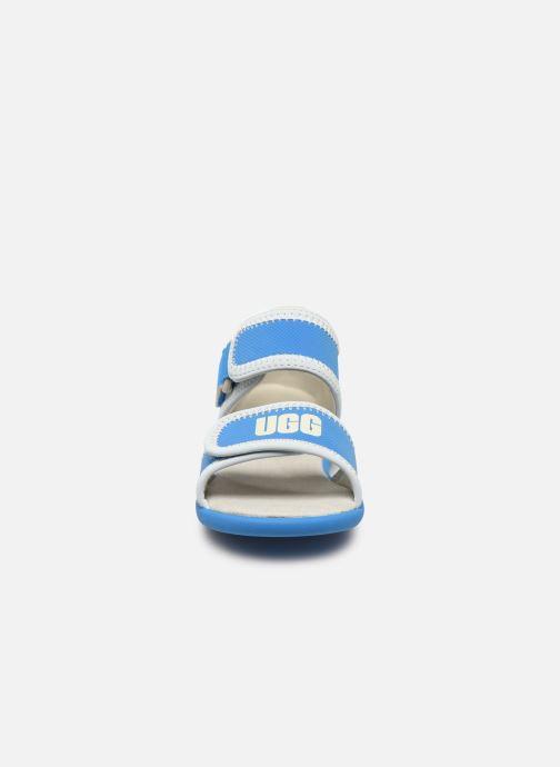 Sandalias UGG T DELTA Azul vista del modelo