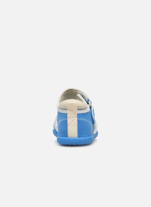 Sandalias UGG T DELTA Azul vista lateral derecha