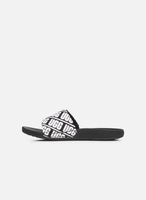 Sandali e scarpe aperte UGG K BEACH SLIDE Nero immagine frontale