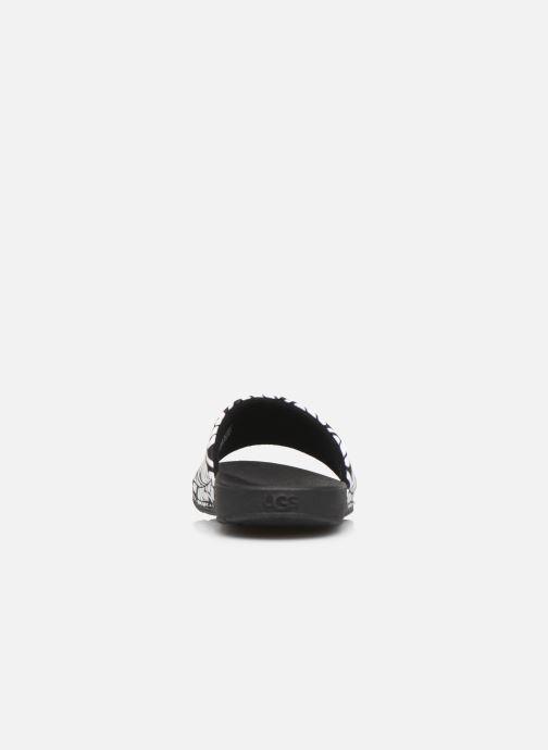 Sandali e scarpe aperte UGG K BEACH SLIDE Nero immagine destra