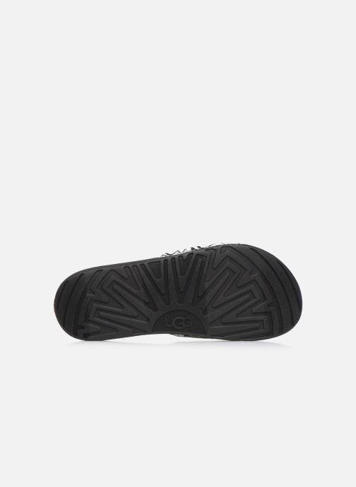 Sandali e scarpe aperte UGG K BEACH SLIDE Nero immagine dall'alto