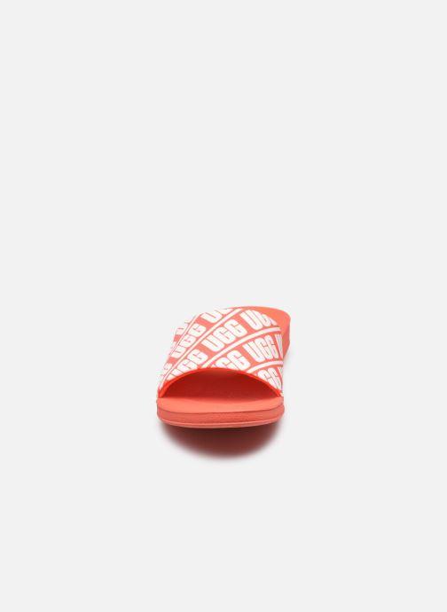 Sandalias UGG K BEACH SLIDE Naranja vista del modelo