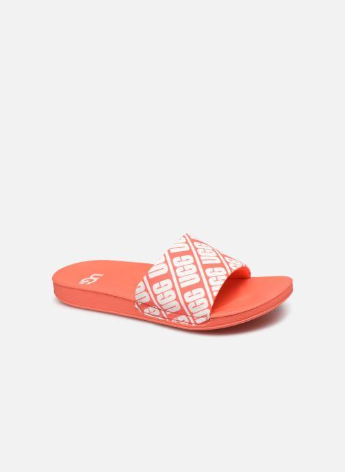 Sandalias UGG K BEACH SLIDE Naranja vista de detalle / par