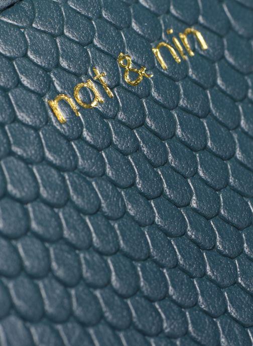 Portemonnaies & Clutches Nat & Nin Anae blau ansicht von links