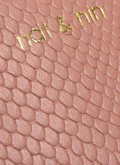 Portemonnaies & Clutches Nat & Nin Anae rosa ansicht von links