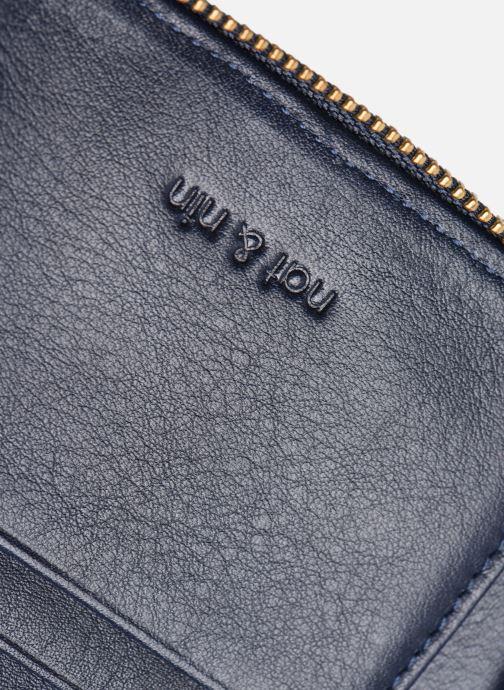 Portemonnaies & Clutches Nat & Nin Coco Mat blau ansicht von links