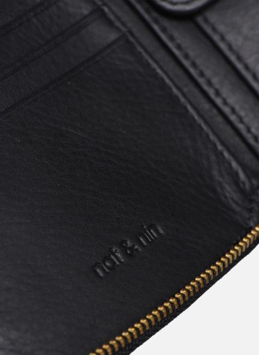 Portemonnaies & Clutches Nat & Nin Coco Mat schwarz ansicht von links