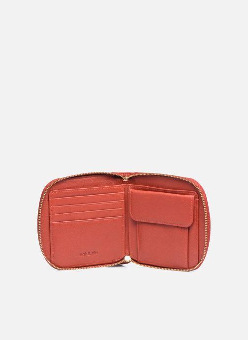 Portemonnaies & Clutches Nat & Nin Coco Mat orange ansicht von hinten