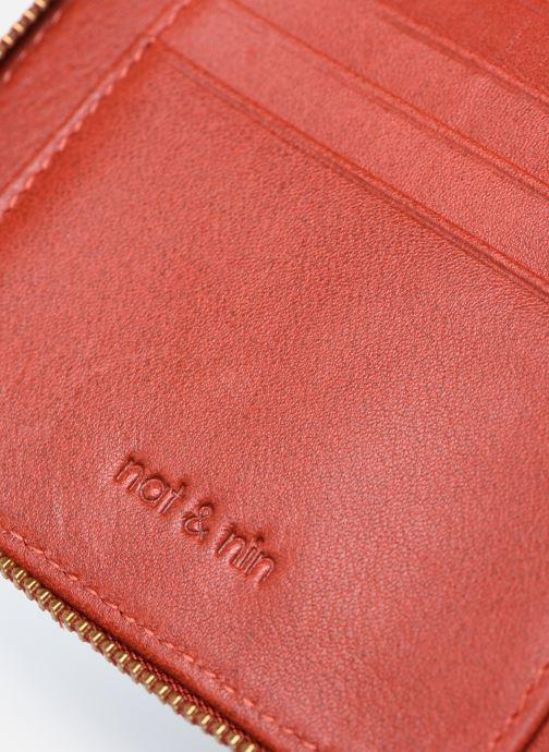 Portemonnaies & Clutches Nat & Nin Coco Mat orange ansicht von links