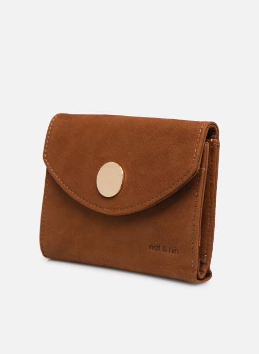 Portemonnaies & Clutches Nat & Nin Luz braun schuhe getragen