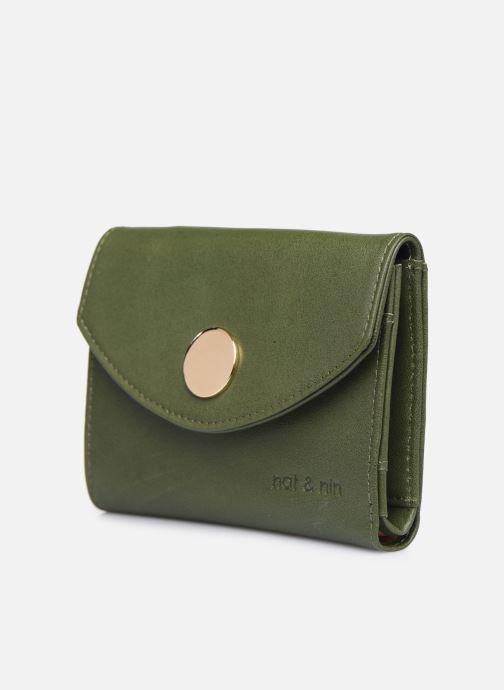 Portemonnaies & Clutches Nat & Nin Luz grün schuhe getragen