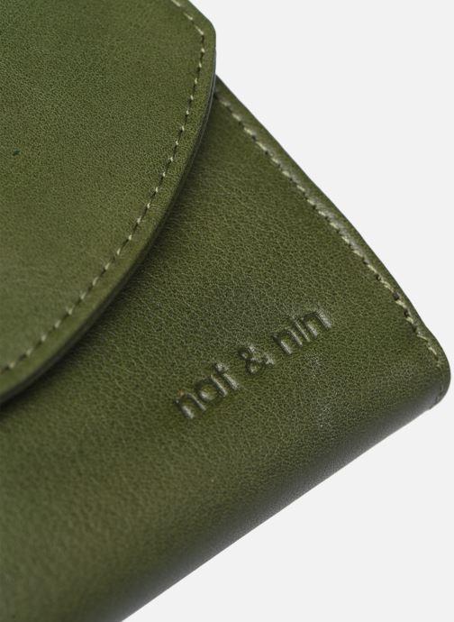 Portemonnaies & Clutches Nat & Nin Luz grün ansicht von links