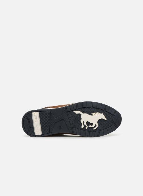 Baskets Mustang shoes Afiya Marron vue haut
