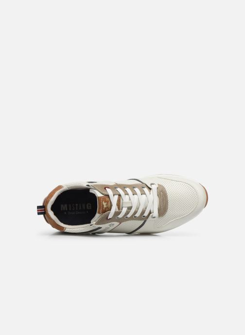 Sneakers Mustang shoes Aima Bianco immagine sinistra