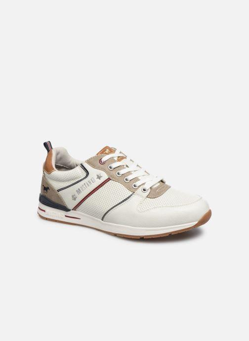 Baskets Mustang shoes Aima Blanc vue détail/paire