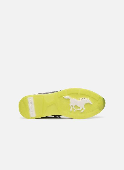 Baskets Mustang shoes Akira Gris vue haut