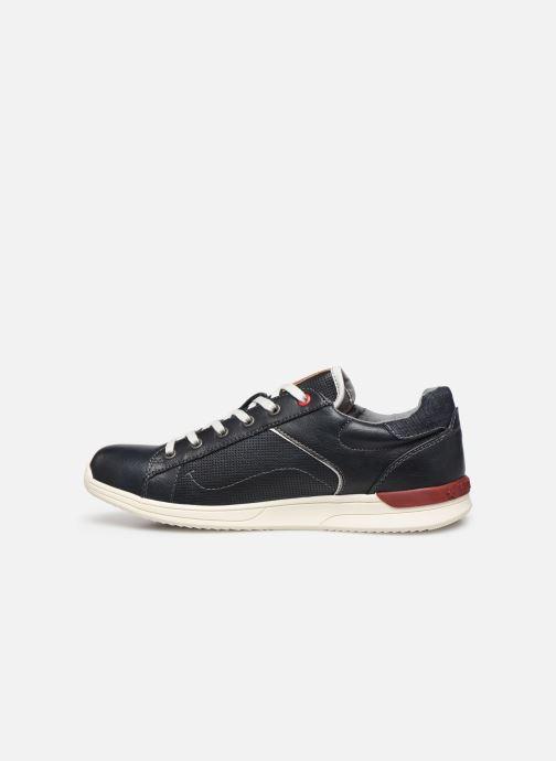 Sneakers Mustang shoes Amya Blauw voorkant