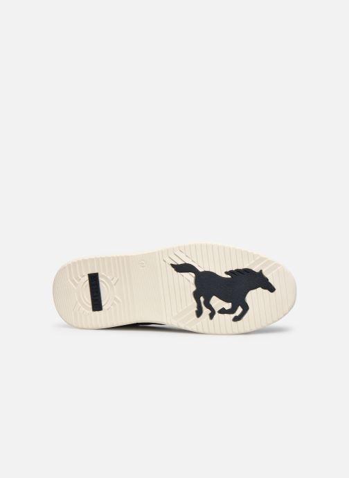 Baskets Mustang shoes Amya Bleu vue haut