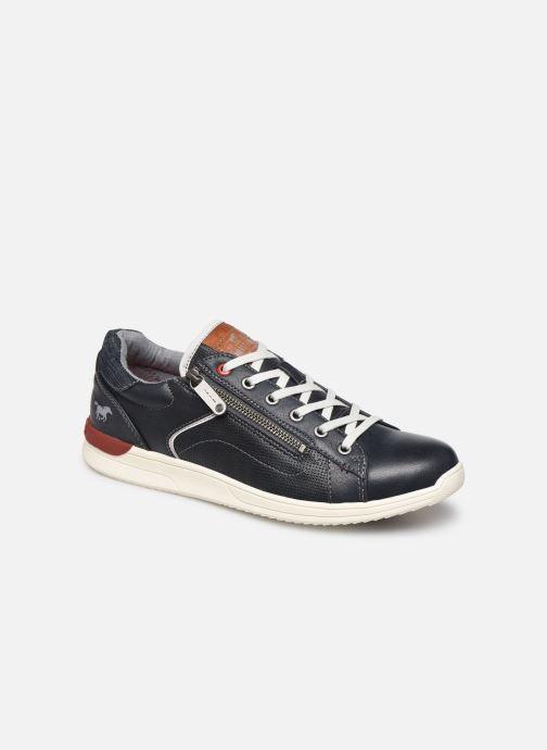 Baskets Mustang shoes Amya Bleu vue détail/paire