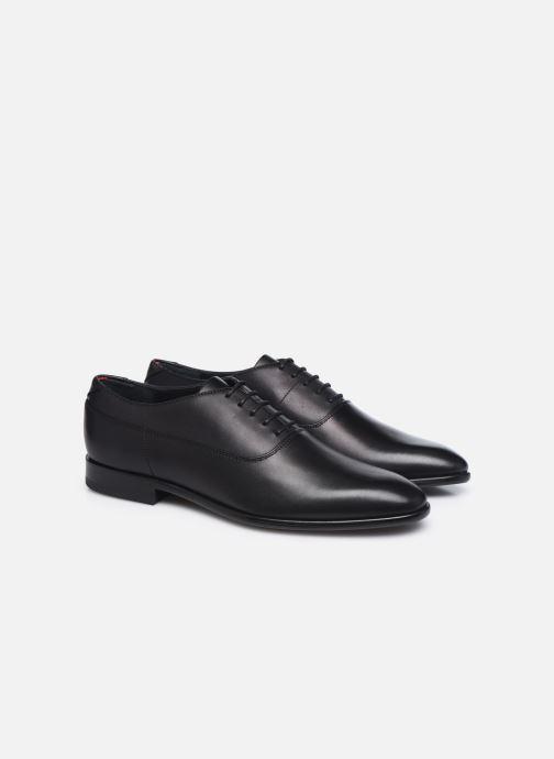 Chaussures à lacets Hugo APPEAL OXFORD Noir vue 3/4