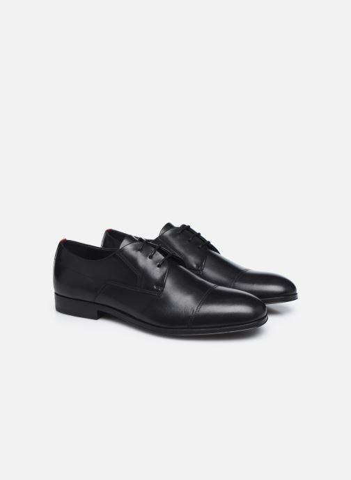 Chaussures à lacets Hugo BOHEME DERBY Marron vue 3/4