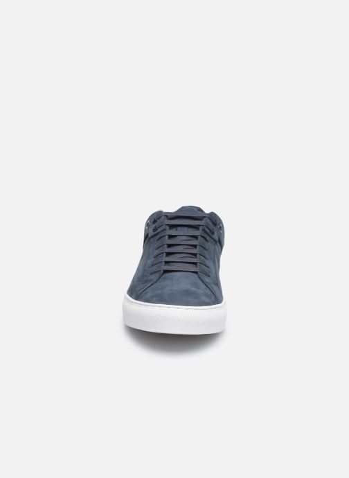 Baskets Hugo FUTURISM TENN Bleu vue portées chaussures