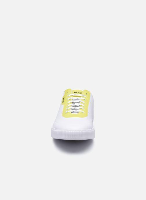 Baskets Hugo ZERO TENN Blanc vue portées chaussures