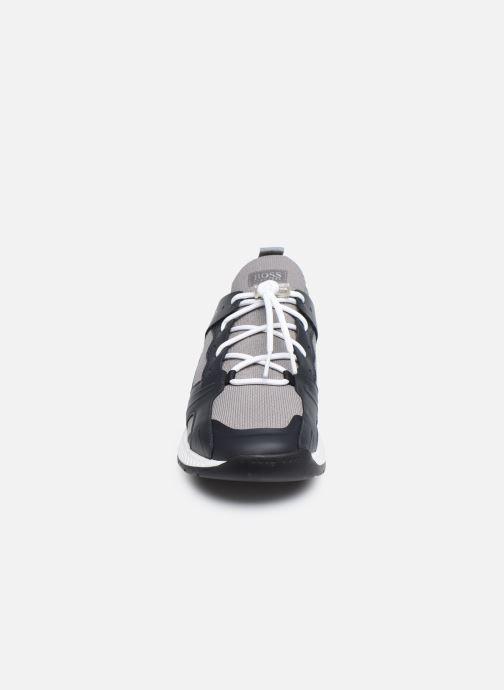 Sneaker BOSS TITANIUM RUNN grau schuhe getragen