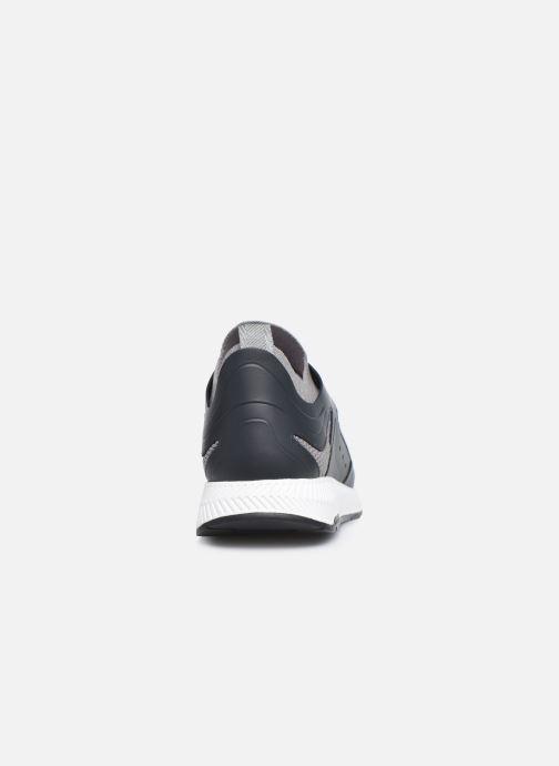 Sneaker BOSS TITANIUM RUNN grau ansicht von rechts