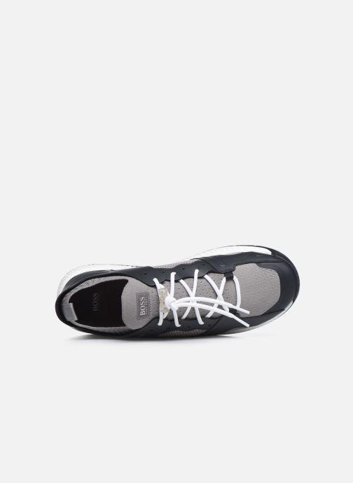 Sneaker BOSS TITANIUM RUNN grau ansicht von links