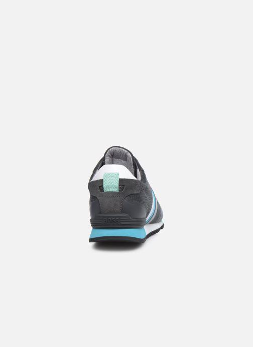 Sneaker BOSS PARKOUR RUNN grau ansicht von rechts