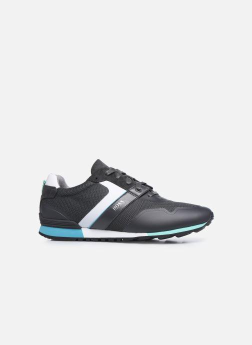 Sneaker BOSS PARKOUR RUNN grau ansicht von hinten