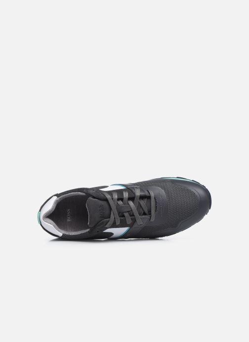 Sneaker BOSS PARKOUR RUNN grau ansicht von links
