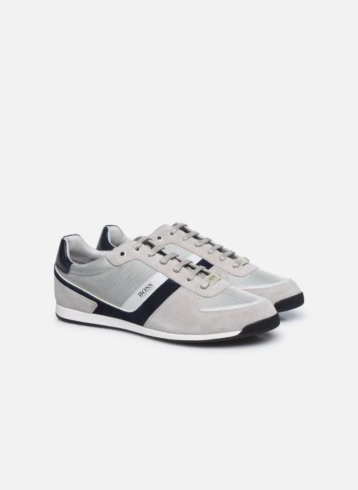 Sneaker BOSS GLAZE LOWP grau 3 von 4 ansichten