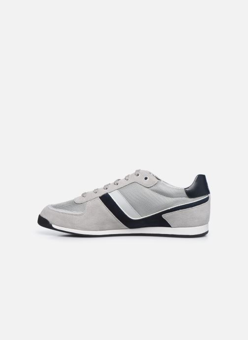 Sneaker BOSS GLAZE LOWP grau ansicht von vorne