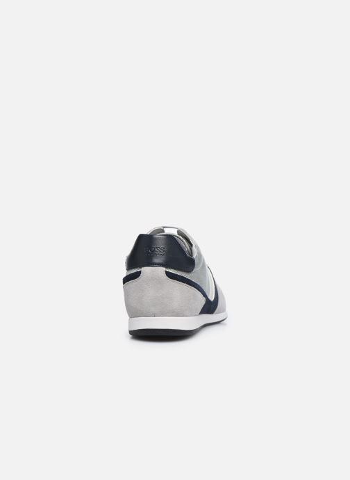 Sneaker BOSS GLAZE LOWP grau ansicht von rechts