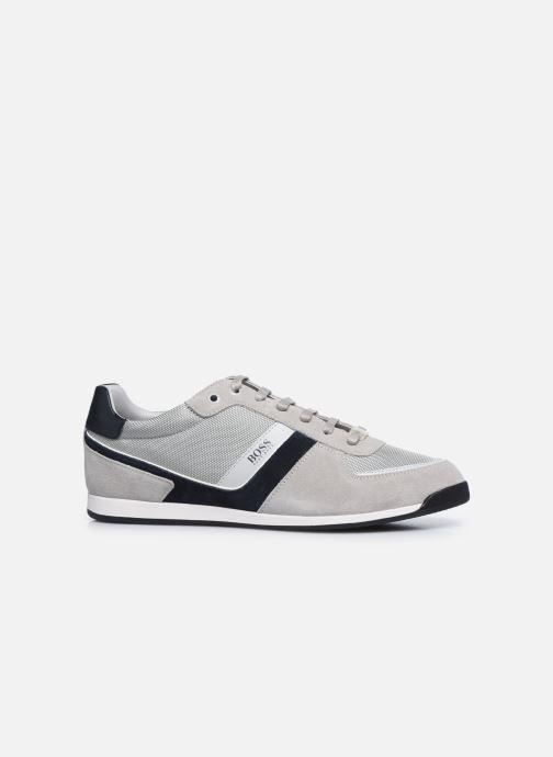 Sneaker BOSS GLAZE LOWP grau ansicht von hinten