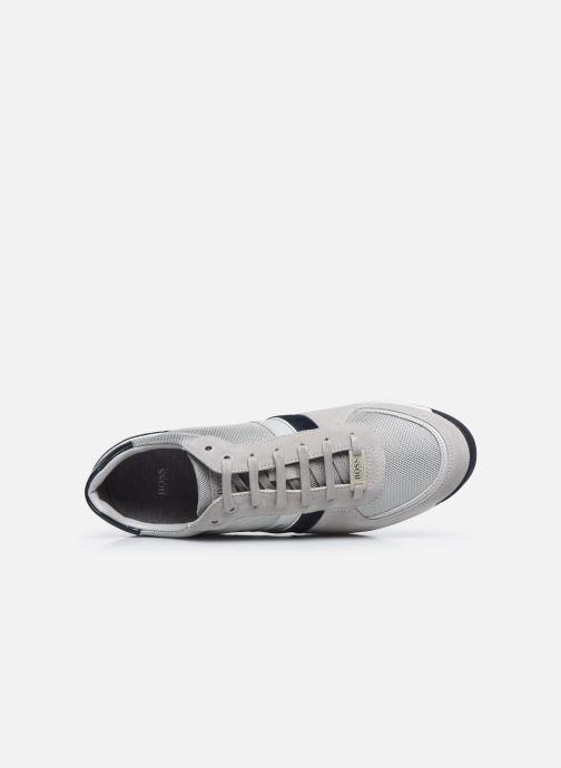 Sneaker BOSS GLAZE LOWP grau ansicht von links
